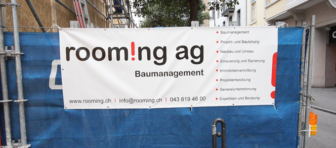rooming AG - Baumanagement
